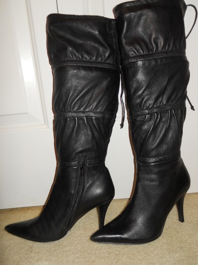 Bandolino Leather black Boots Image 2