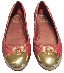 Tory Burch Shiraz/Gold Flats