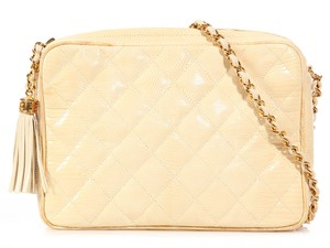 Chanel Quilted Ch.k0928.04 White Shoulder Bag