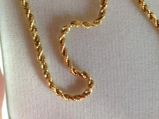 Other 14K Gold 19 in. rope design necklace