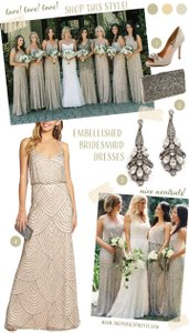 Adrianna Papell Nude Adrianna Papell Beaded Dress Dress