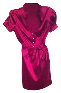 Guess short dress Dark Maroon on Tradesy