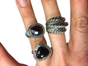 Other Silver rings/costume jewelry