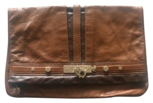 Marc Jacobs Convertible Cognac Clutch