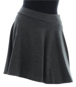 Splendid Flare Mini Mini Skirt Grey