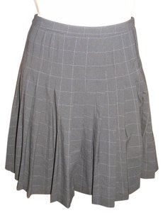 Max Studio Schoolgirl Skirt Black