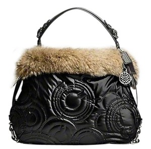 Coach Limited Edition Fur Hobo Bag