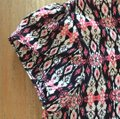 Other Top Very dark navy, pink and white Image 3