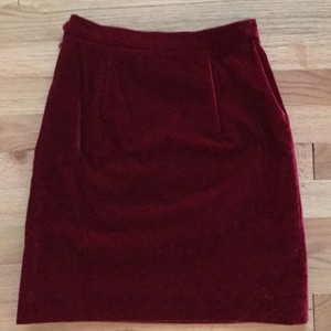 Moschino Mini Skirt Dark red
