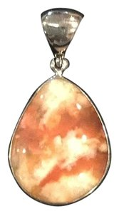 Others Follow Custom Silver and Agate Pendant