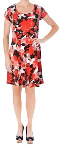 MICHAEL Michael Kors short dress White with Red and Black on Tradesy
