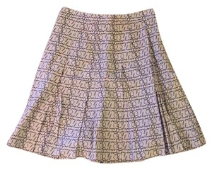 Burberry Skirt Black and Tan