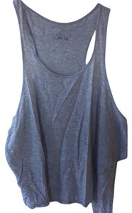 Blue Life Top Grey