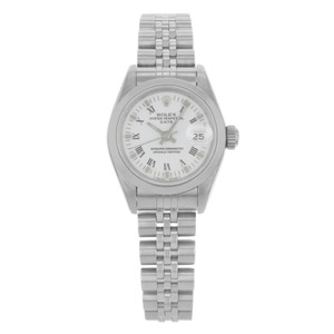 Rolex Rolex Date 69160 Stainless Steel Automatic Ladies Watch (14609)