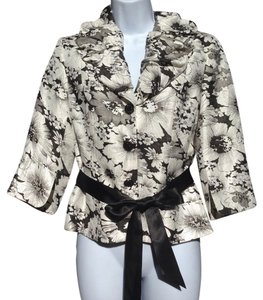 Adrianna Papell Top Black/White
