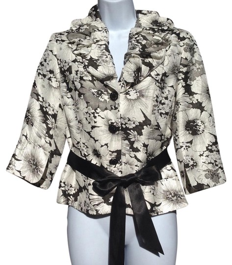 Adrianna Papell Top Black/White durable modeling