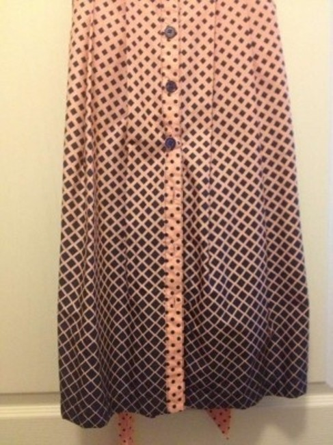 BCBG Paris short dress Pink / Blue Vintage Ombre Pleated on Tradesy