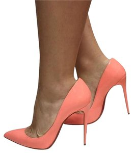 Christian Louboutin Louboutin Pigalle Louboutin Size 37 Pigalle Flamingo Bright Coral Peach Pumps