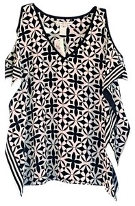 Trina Turk Top Black, White