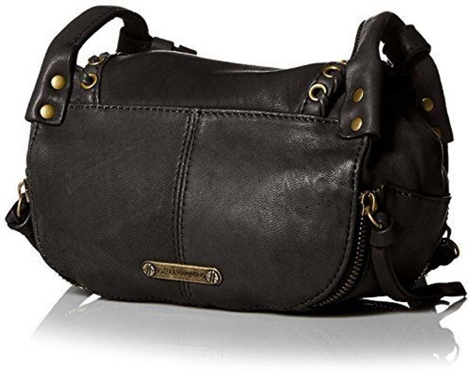 Joelle Hawkens by Treesje Mini Swallow Black Leather Cross Body Bag -  Tradesy 849742d14b4e6