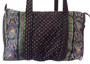 Vera Bradley Black Travel Bag