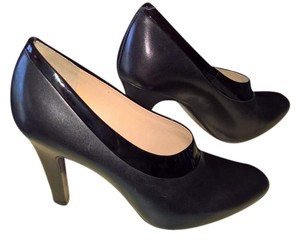 Cole Haan Nike Air Black Leather & Patent Pumps