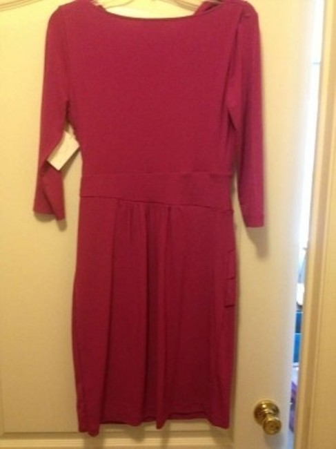 New York & Company Stretchy Pleated Dress