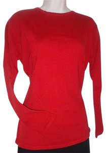 Saks Fifth Avenue Crewneck Shell Longsleeve Merino Sweater