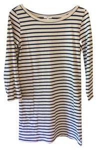 Joie short dress Blue and White Stripe on Tradesy