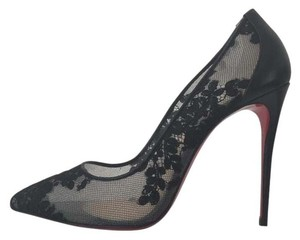 Christian Louboutin Follies 100 Pigalle Follies Black Pumps