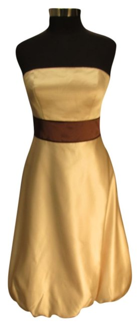 Preload https://item1.tradesy.com/images/bill-levkoff-champagne-455-lev-box-6-mid-length-cocktail-dress-size-10-m-2010565-0-0.jpg?width=400&height=650