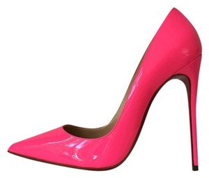 Christian Louboutin So Kate Shocking Neon Hot Pink Pumps