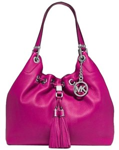 Michael Kors Leather Logo Shoulder Bag