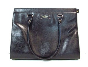 Kate Spade Leather Black Tote
