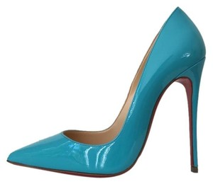 Christian Louboutin So Kate Pacific Turquoise Blue Pumps