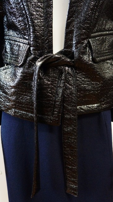 Christian Lacroix New Runway Belted Leather Jacket Image 2
