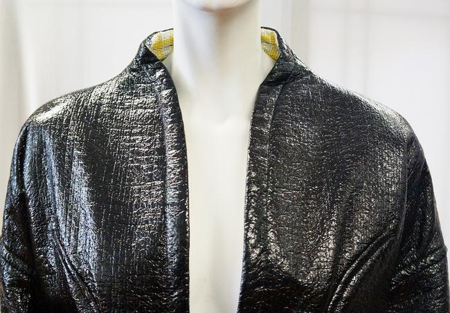 Christian Lacroix New Runway Belted Leather Jacket Image 3