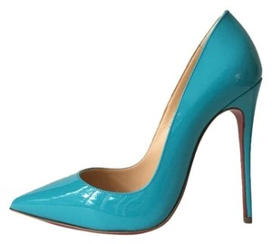 Christian Louboutin So Kate Pacific Turquoise Pigalle Follies Blue Pumps