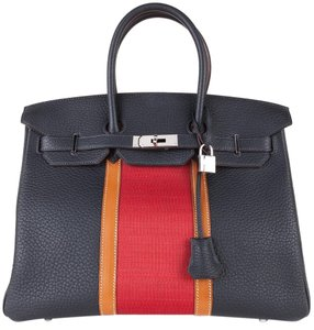 Hermès Satchel in Indigo