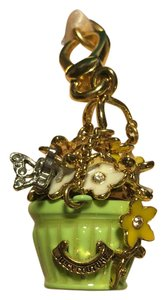 Juicy Couture NWT! JUICY COUTURE ADORABLE HANGING FLOWER POT CHARM