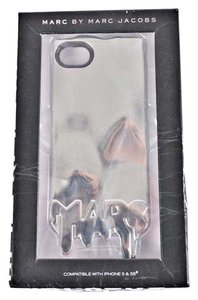Marc Jacobs Authn. NWT Marc Jacobs Silver Iphone5/5S/5C Case