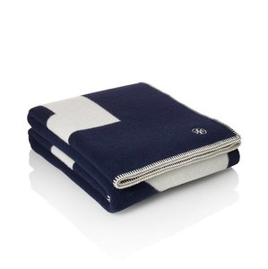 Tory Burch Reversible Graphic Blanket