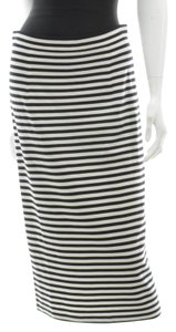Tibi Skirt Black and White