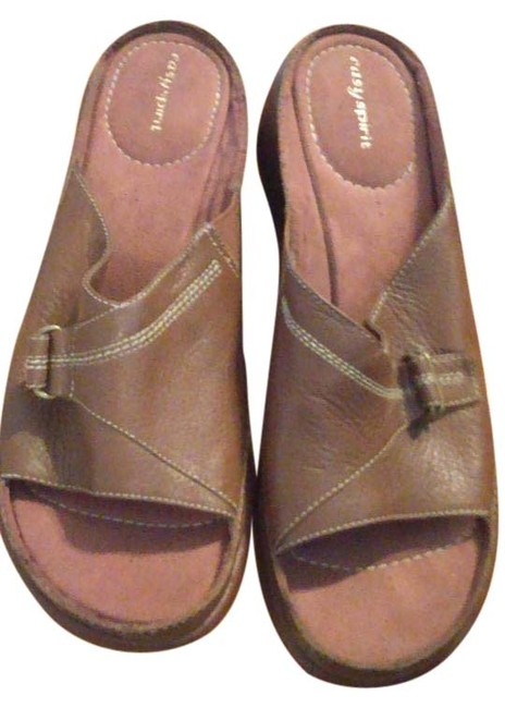 Item - Brown Comfort Sandals Size US 10 Regular (M, B)