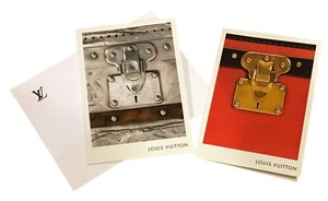 Louis Vuitton 2 authentic artistic and rare postcards