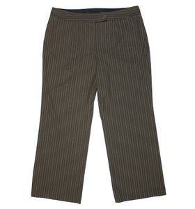Jones New York Straight Pants Brown