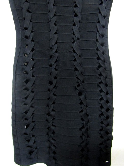 Hervé Leger Size 0 Size Xs Braided Dress Image 2