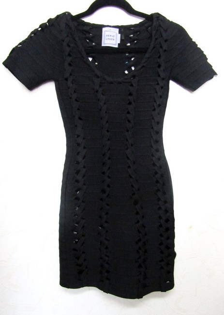 Hervé Leger Size 0 Size Xs Braided Dress Image 5