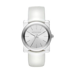 Michael Kors Michael Kors Kempton Silver Sunray Dial Ladies Dress Watch