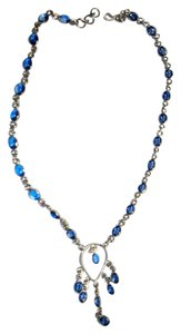 Silver Co. Dazzling Blue Iolite Silver Necklace